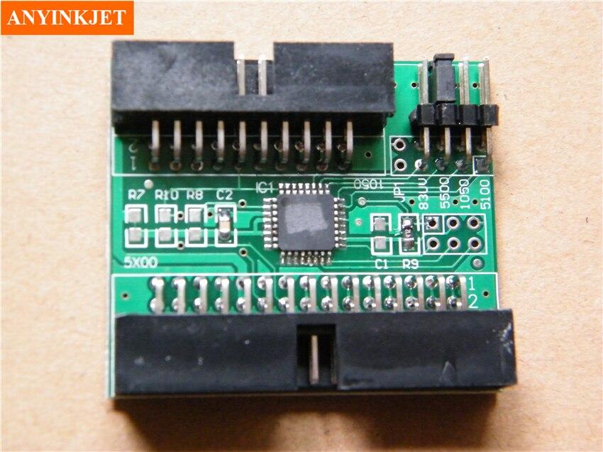 1050C 1055 CENTÍMETROS Placa de chip decodificador para HP Designjet 5000 5500 resetter chip de decodificação 5500UV 5000UV 5000 PS 5500 PS cartão