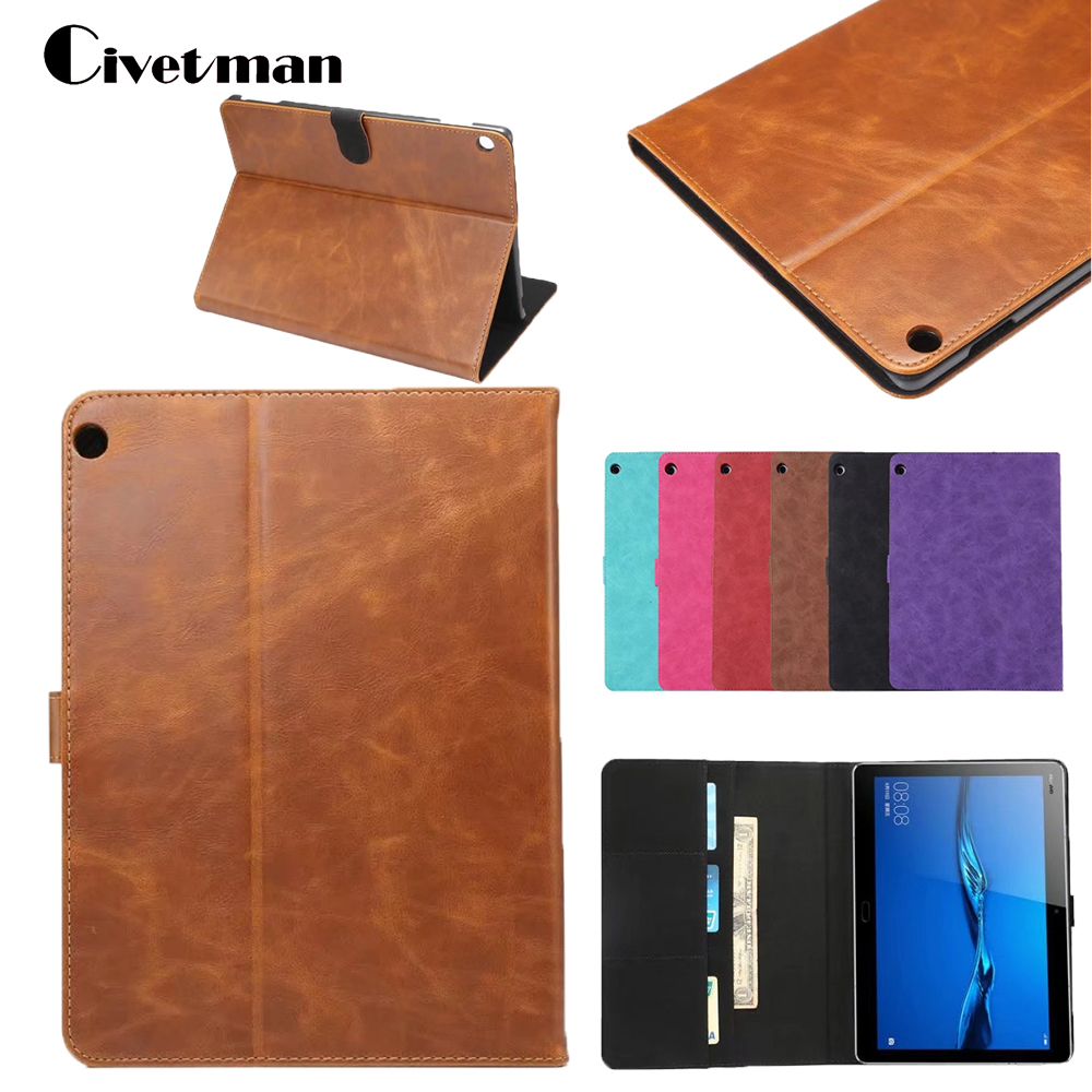 Luxury PU Leather Cover Slim Protective Case For Huawei MediaPad M3 Lite 10.1 BAH-W09 BAH-AL00 10.1 Tablet PC Book Cover