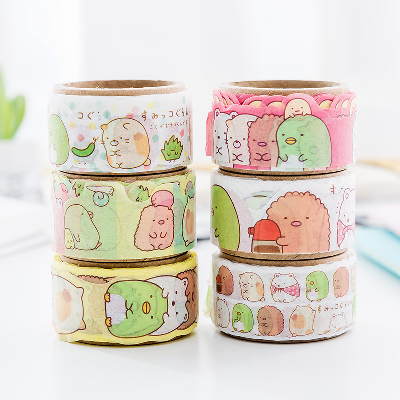 Fantastic Sumikko Gurashi Washi Tape Adhesive Tape DIY Scrapbooking Sticker Label Masking Tape