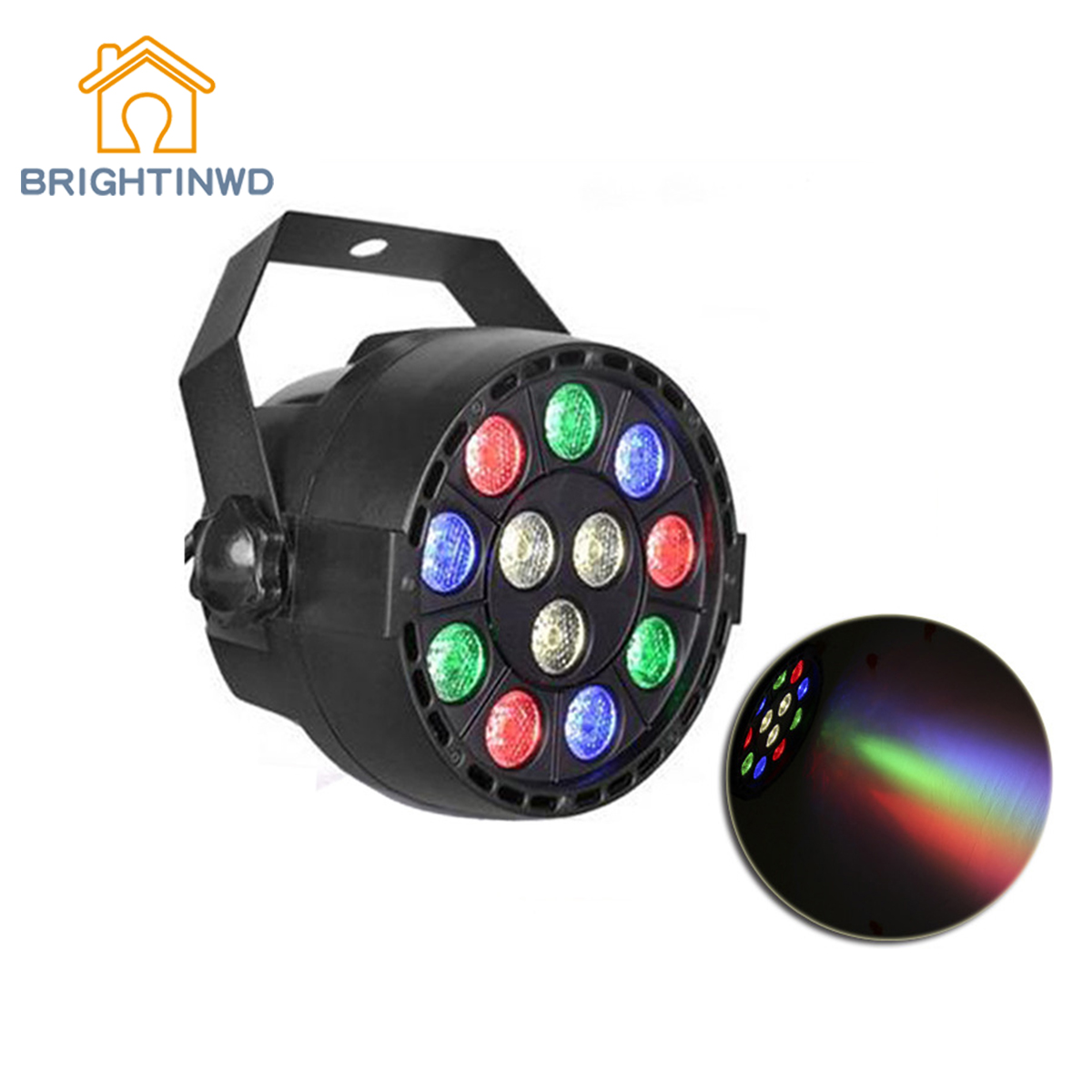Aliexpress Com Buy Led Mini 12 Stage Lights Plastic Voice Par Pa