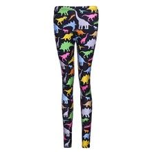 forme Dinosaure Vêtements Hot Dames Extensible Ski Legging Pleine en Pantalon Imprimé Impression New 2017 remise Femmes Pantalon BEwq77