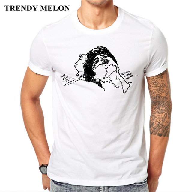 Trendy Melon Funny Fashion T shirt Men Call me by your name Cool ...