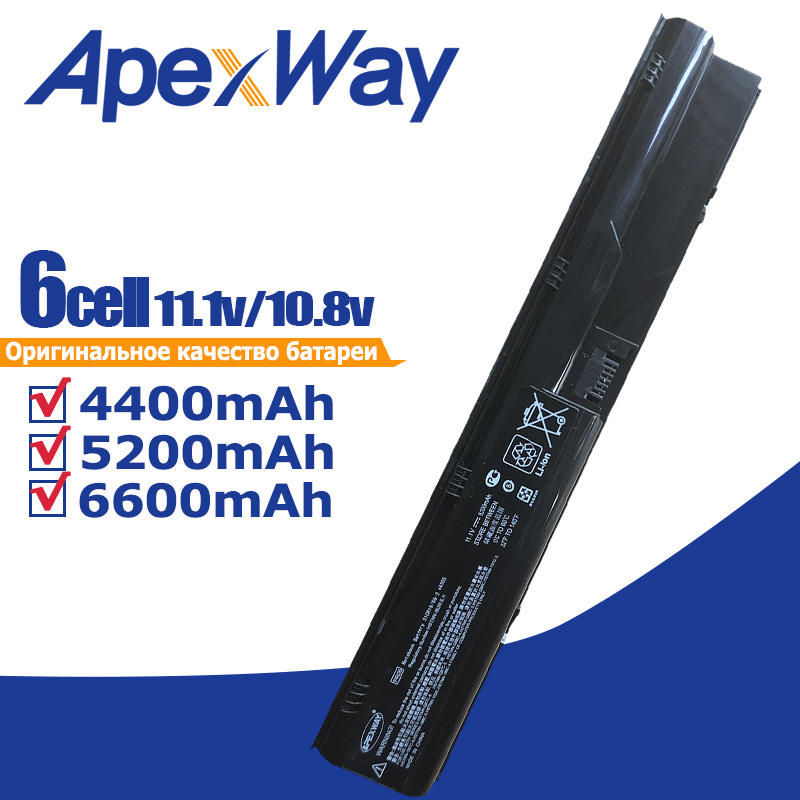 4400mAh battery for HP ProBook 4330s 4331s 4430s 4431s 4435s 4436s 4530s 4535s PR06 633733 151 633733 1A1 633733 321 633805 001-in Laptop Batteries from Computer & Office on