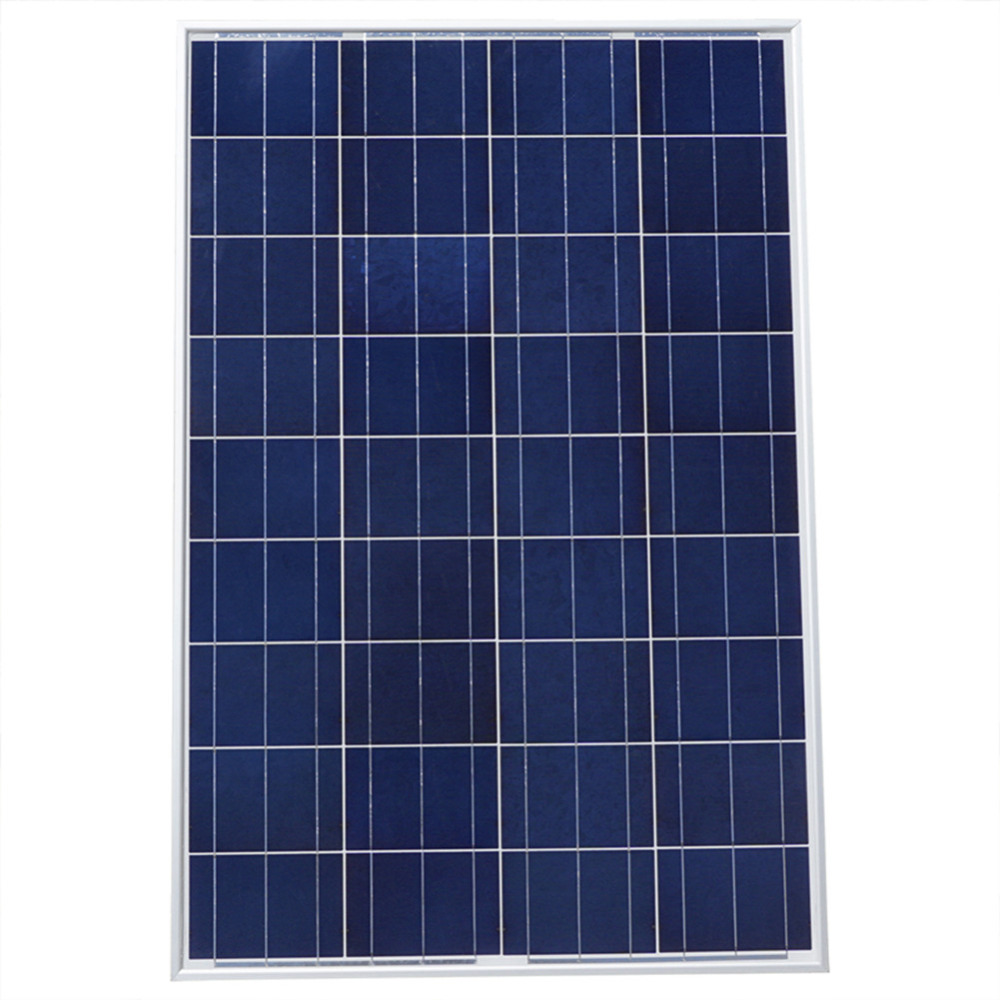 100W 12V A Grade Polycrystalline Solar Panel Solar Module for 12V Battery RV boat, car, Solar System 12v 30w solar panel polycrystalline semi flexible solar battery for car boat emergency lights solar systems solar module page 2