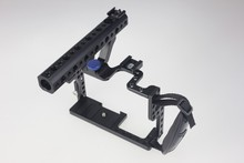 F11100 Professional GH3 GH4 Protective Housing Case Handle Grip Rugged Cage Combo Set DSLR Rig Digital