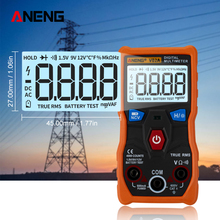 ANENG V02A  Measurement Digital Multimeter counts digital multimeter profesional capacitor tester esr meter richmeters testers