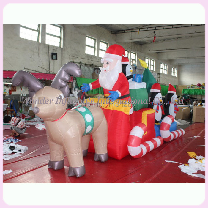 Popular inflatable christmas outdoor decorations buy cheap for Quality outdoor christmas decorations