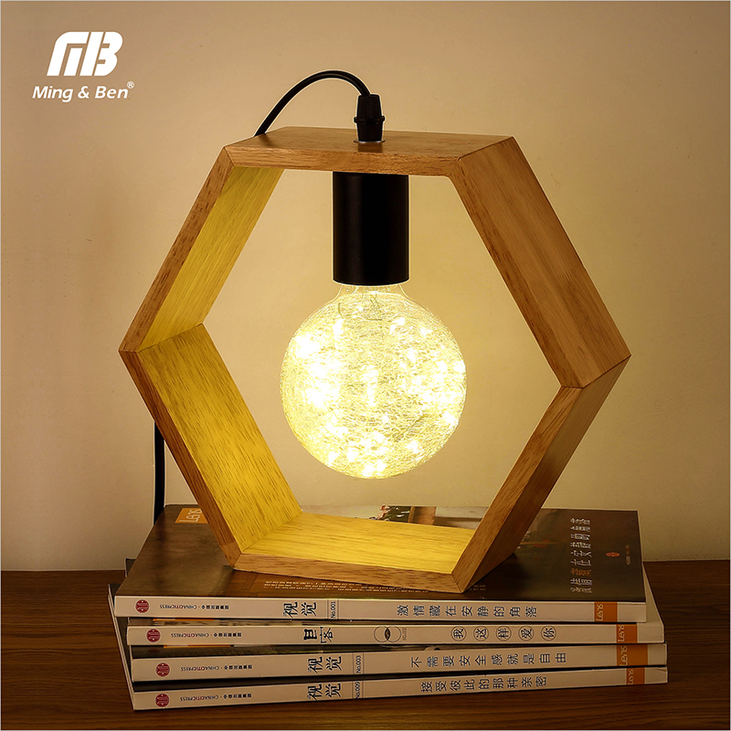 Led Lamps Led Table Lamps Modern Brief Bedside Lamp Wooden Base&cloth Lamp Shade Woode Table Lamp For Living Room Bedroom Study Room Desk Lighting Fixture