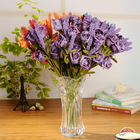 Roses 6 Colors Laven...