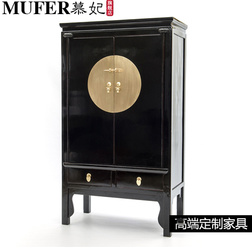 Modern fashion new Chinese style Chinese style antique furniture wardrobe  cabinet to do the old wood entrance cabinet display ca-in Wardrobes from  Furniture ... - Modern Fashion New Chinese Style Chinese Style Antique Furniture