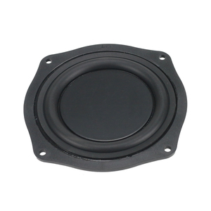Image 5 - 4 Inch 113mm Frame Radiator Passive Plate Audio Bass Vibration Diaphragm 1Pairs