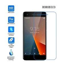 ROROBICO Tempered Glass For Vodafone Smart Prime 6 895N V8 VFD710 Ultra 7 VDF700 E8 VFD510 Screen Protector CASE