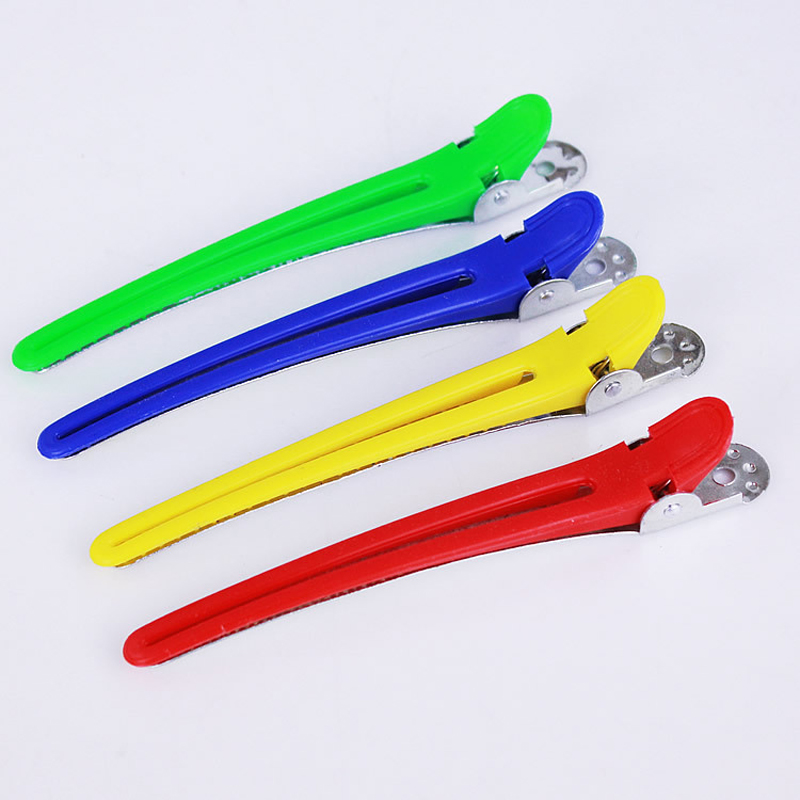 10Pcs Professional Hair Clips Hairpin Hairclips Hair Clamps Grip Barber Clip Barrette Hair Cutting Clip Salon Accessories