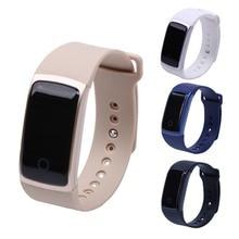 Водонепроницаемый Сенсорный экран A09 Смарт-часы браслет кровяного давления сердечного ритма Monitores шагомер Фитнес смарт-браслет