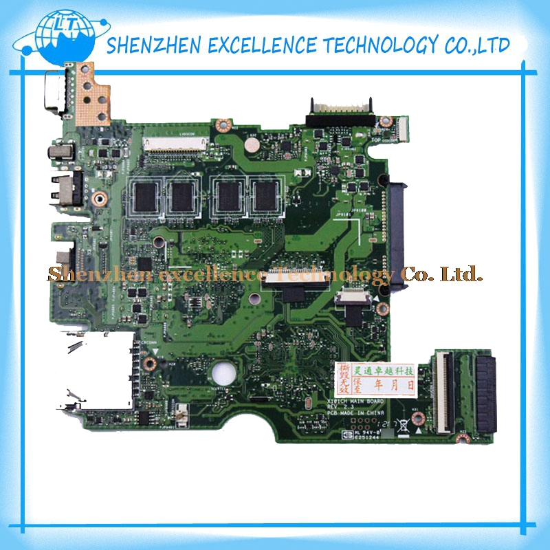For ASUS Epc X101CH REV:2.3 or REV:2.0 Laptop Motherboard Mainboard fully Tested and Perfect working Free Shipping