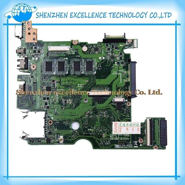 Para asus epc x101ch rev: 2.3 ou rev: 2.0 laptop motherboard mainboard totalmente testado e funcionando perfeito livre grátis