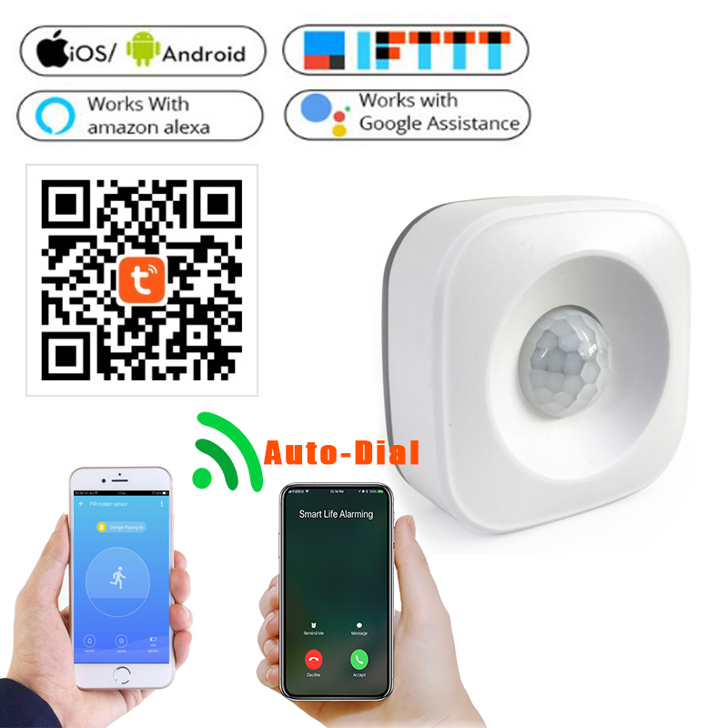 Motion PIR Sensor Detector WIFI Movement Sensor Smart Life APP Wireless Home Security SystemMotion PIR Sensor Detector WIFI Movement Sensor Smart Life APP Wireless Home Security System