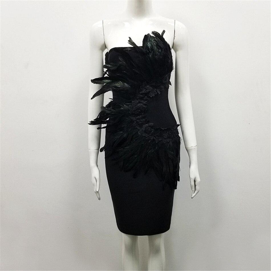 De Ciemiili Manches Aucun Robe Partie 2019 Vêtements Bretelles Printemps Sexy Dames Club Soirée Noire Black Élégant 1rtq1y