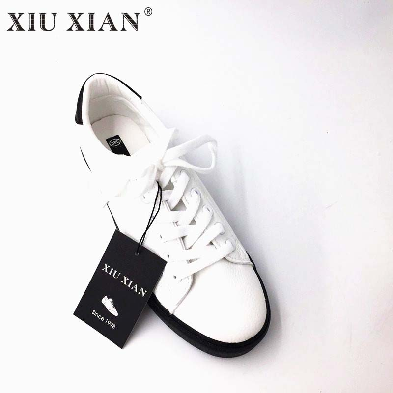 New Arrival Korean Women Canvas Shoes Lace Up Summer Casual Shoes 2017 Breathable Flat Heel White Lady Shoes Rubber Sole Loafers women breathable leisure cloth shoes durable lightweight comfortable soft walking mixed color flat heel shoe rubber sole canvas