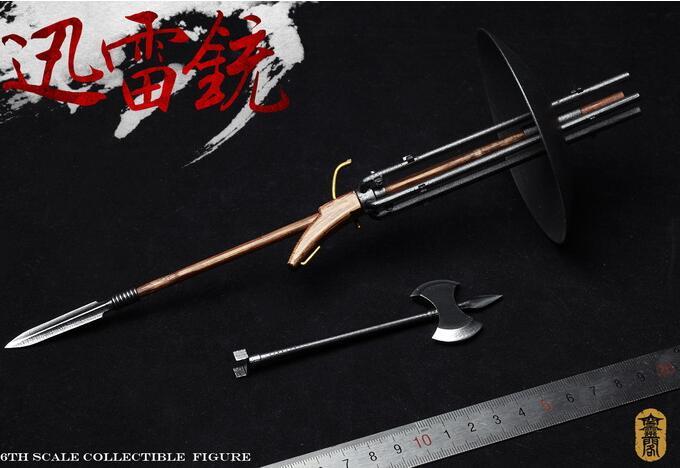 1:6 Scale KLG007 War Series Thunder Gun Model Toy