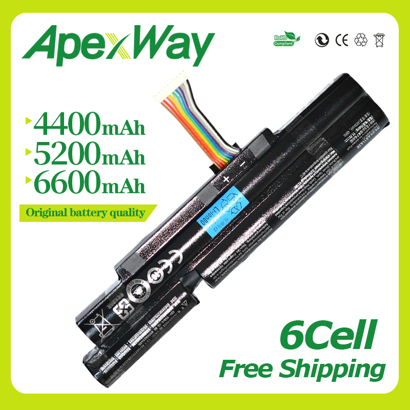 4400MAh 11.1V 6CELL AS11A3E AS11A5E Laptop battery for <font><b>Acer</b></font> Aspire TimelineX 3830T 4830T 5830T 3830TG <font><b>4830TG</b></font> 5830TG 3INR18/65-2 image