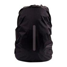 Güvenli sırt çantası yağmur kılıfı yansıtıcı su geçirmez çanta kılıfı açık kamp seyahat yağmur geçirmez toz geçirmez