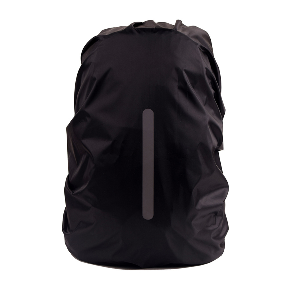 Safe Backpack Rain Cover Reflective Waterproof Bag Cover Outdoor Camping Travel Rainproof Dustproof-in Raincoats from Home & Garden