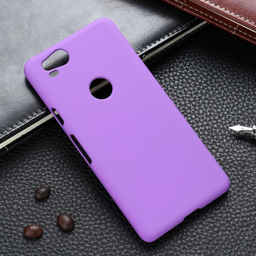 Case For Google Pixel 2 Case Hard Plastic Matte Black Cases Coque For HTC Pixel 2 Cover Housing Etui Solid Color 5.0