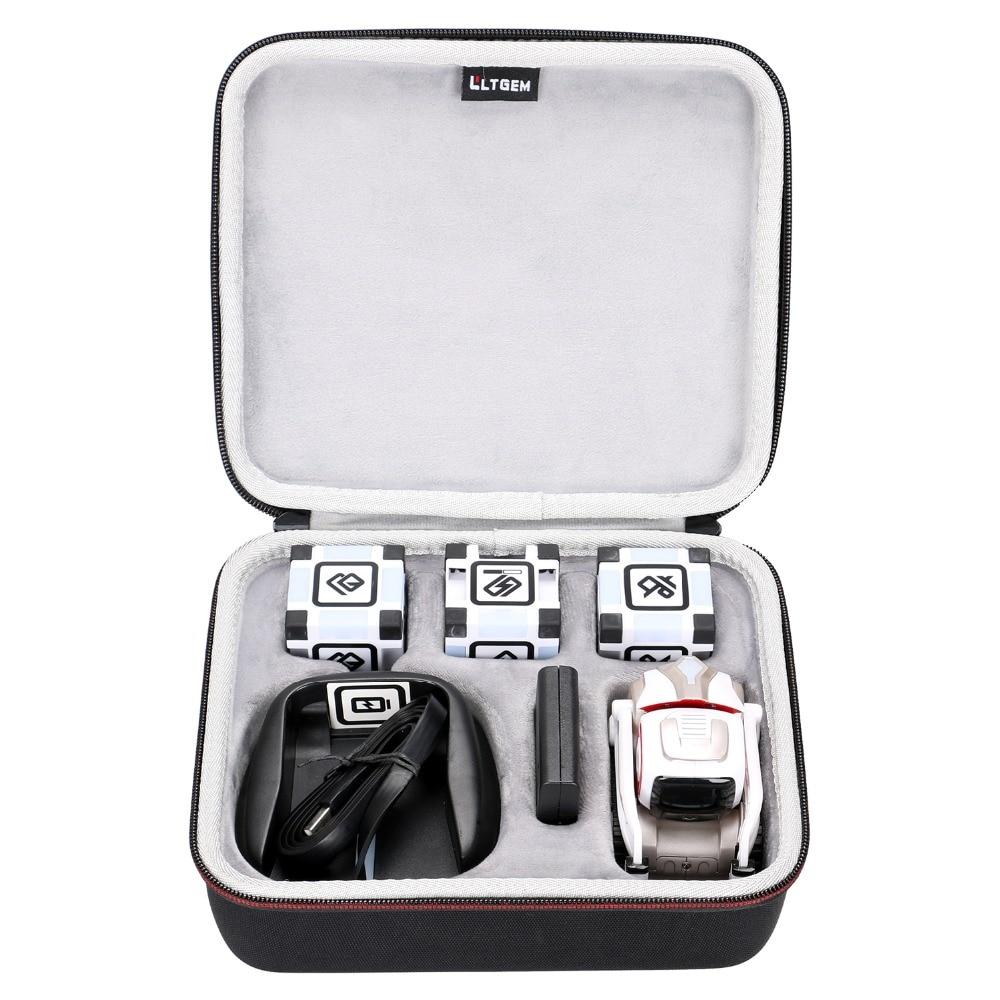 LTGEM Hard Case For Anki Cozmo 000-00048 Or Cozmo Collector's Edition Robot-Black