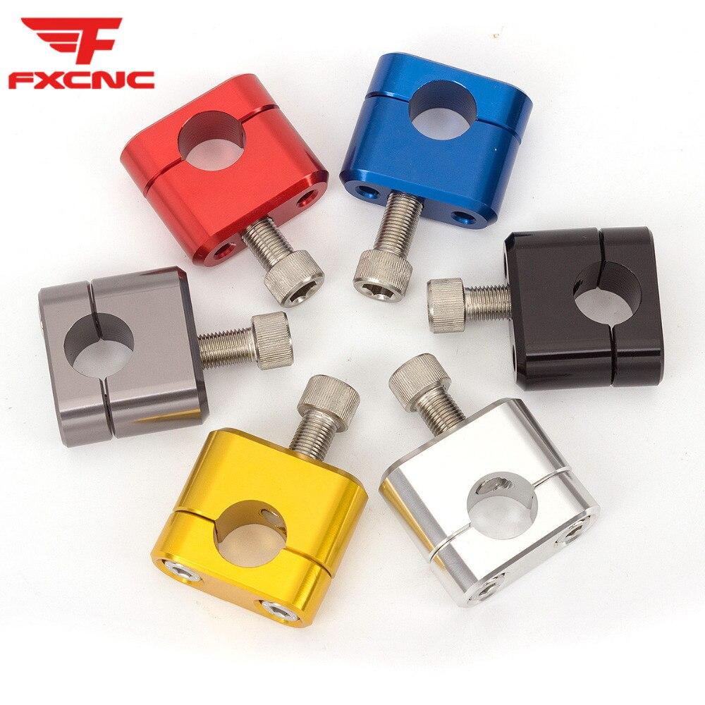 CNC Guidon Adaptateur 22 mm à 28,6 mm Fatbar