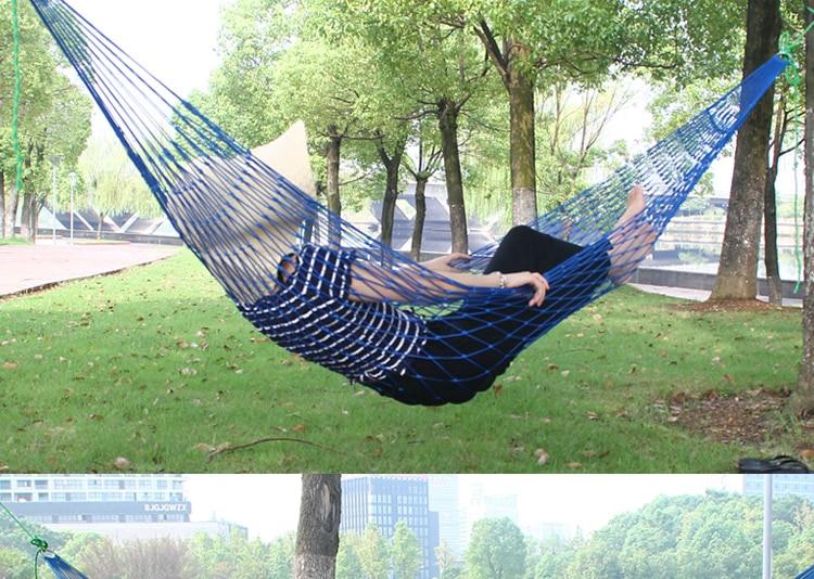 1Pc sleeping hammock Portable Garden Outdoor Camping ...