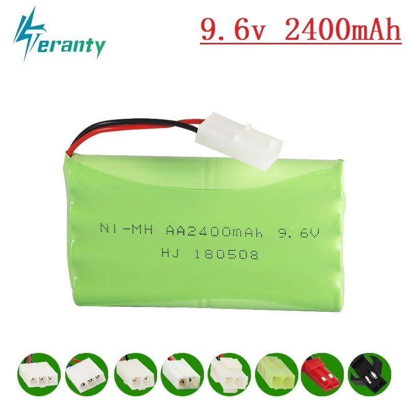 9.6V 700mAH 800mAH 1000mAH 1800mAH 2400mAH 2800mAH RC Toy Eletric Lighting Securty Faclities AA 9.6V Ni-Cd / Ni-MH Battery Group