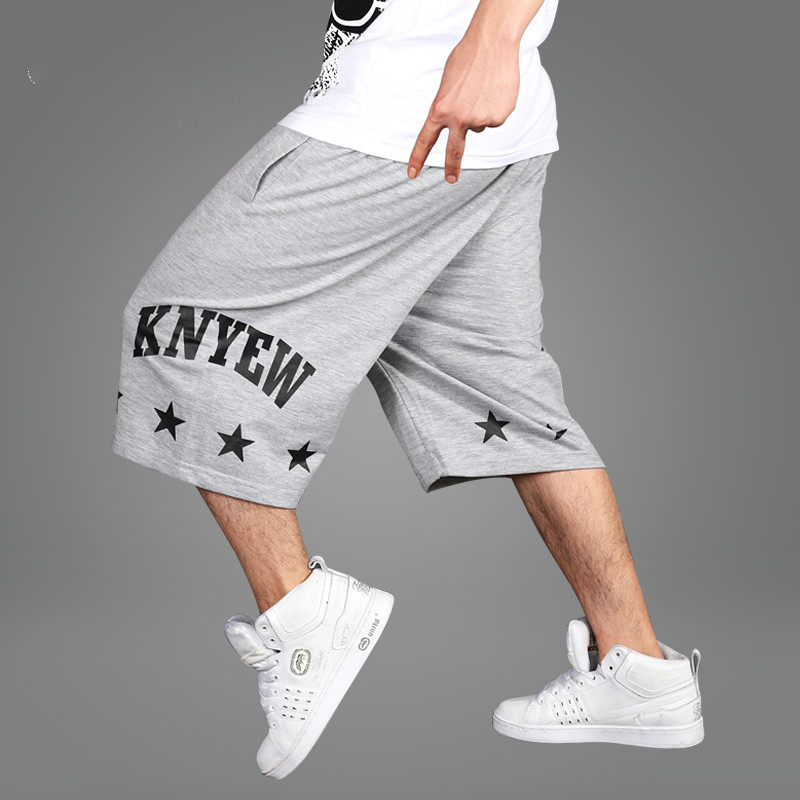 73766c461ab95 2017 Summer New Design Plus Size Hip Hop Baggy Shorts Men Casual Loose Fit  Short Pants For Street Dancing Big Size XXXL 40 42 44-in Casual Shorts from  Men s ...