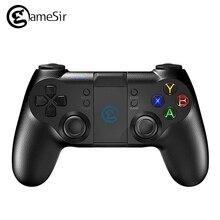 D'origine GameSir T1s Gamepad pour PS3 Bluetooth 2.4 GHz Filaire Joystick PC pour SONY Playstation 3 MCU Puce Rétro-Éclairage pour PS3