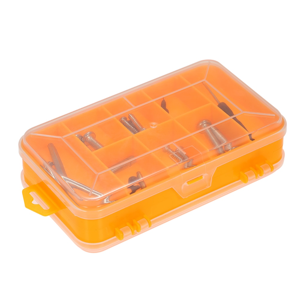 Translucent Utility Component Storage Box Anti-Tarnish Electronic Components And Parts Box Container  For Accessories Neatly
