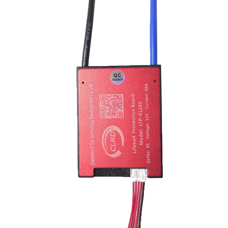 CLRD 3.2V <font><b>4S</b></font> 12V <font><b>LiFePo4</b></font> battery 18650 BMS 10A 15A 20A 30A <font><b>40A</b></font> 50A 60A battery BMS Charging Voltage 14.4V With balance image