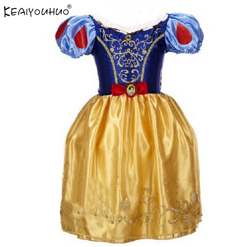 Christmas Dresses For Girls Clothes Children Clothing Princess Dress Rapunzel Aurora Cinderella Dress Halloween Costume For Kids qiu dong children dress long sleeved cinderella princess dress love sally dresses of the girls