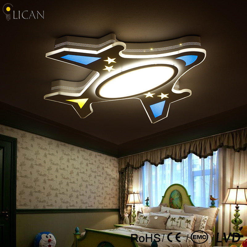 ⊰LICAN Modern 85-265V Remote control Children Ceiling lights modern ...