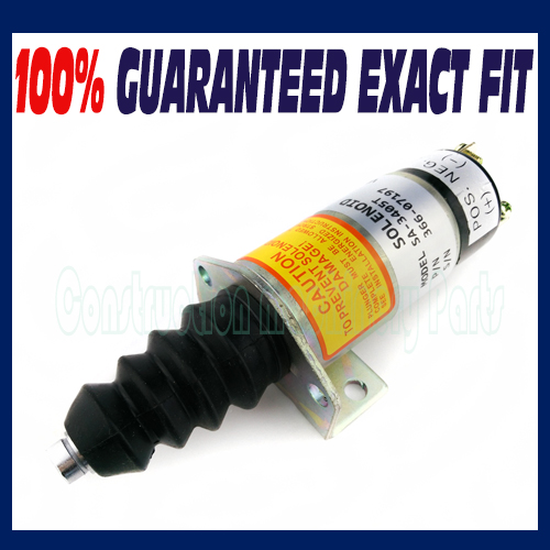 FUEL SHUT OFF SOLENOID FIT FOR Lister Petter SOLENOID 366-07197 SA-3405T