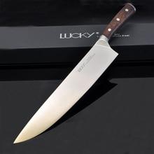 שף מטבח סכין גרמניה 1.4116 נירוסטה מקצועי בשר פילה דג וgyuto סכיני אולטרה שארפ עם Rosewood ידית 27