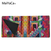 MaiYaCa New Geometric color blocks Mouse Pad pad to Mouse Notbook Computer Mousepad Big Gaming Pad mouse Gamer to Laptop Mouse