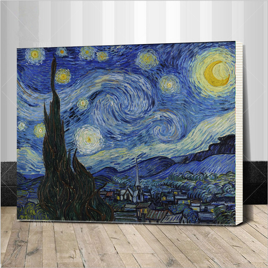pop art artists vincent van gogh oil painting reproduction Starry ...