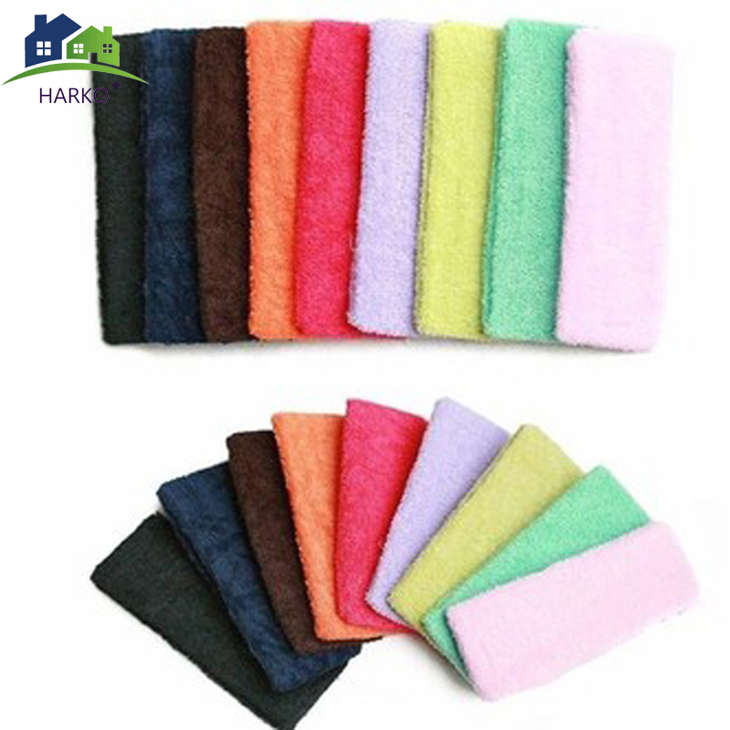 HARKO Hair beauty tool Candy color Yoga hair lead cloth towels absorb sweat wash with wide hair scarf Hair accessories