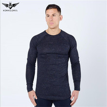 Hot Sale Classic Men T shirt Long Sleeve O neck Men T-shirt  Mens Brand tshirt Sweatshirts Men's Casual Shirts Slim Fit top tees