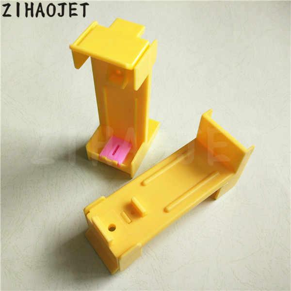 2 pcs/lot grosir kualitas tinggi Encad Novajet 750 manual pompa untuk Lecai Locor 600 630 760 850 860 plastik tinta pompa