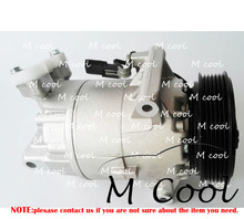 New Auto AC Compressor For Nissan QashQai 2.0 For Renault Clio III Megane II 92600JD200 926001DB0A 92600JD200E new auto ac compressor for renault megane i coach dao 1  03 96 car compressor for renault megane ii bm0 1  cm0 1  12 03