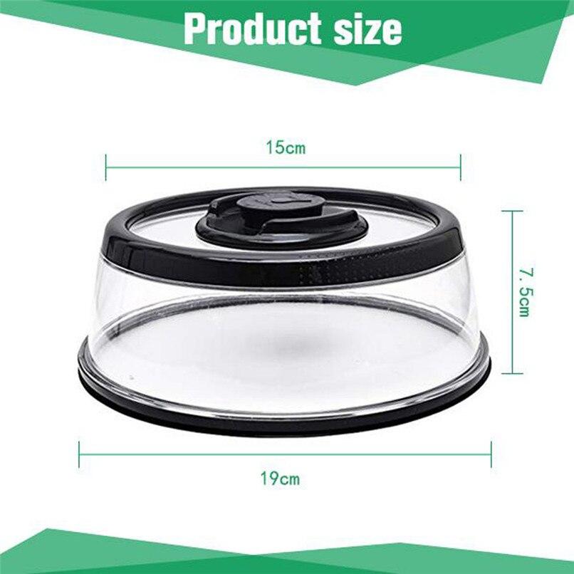 Vacuum Food Seal fresh Cover Vacuum Food Sealer Mintiml Cover Kitchen Instant Vacuum Food Sealer Fresh Cover #2H08 (5)