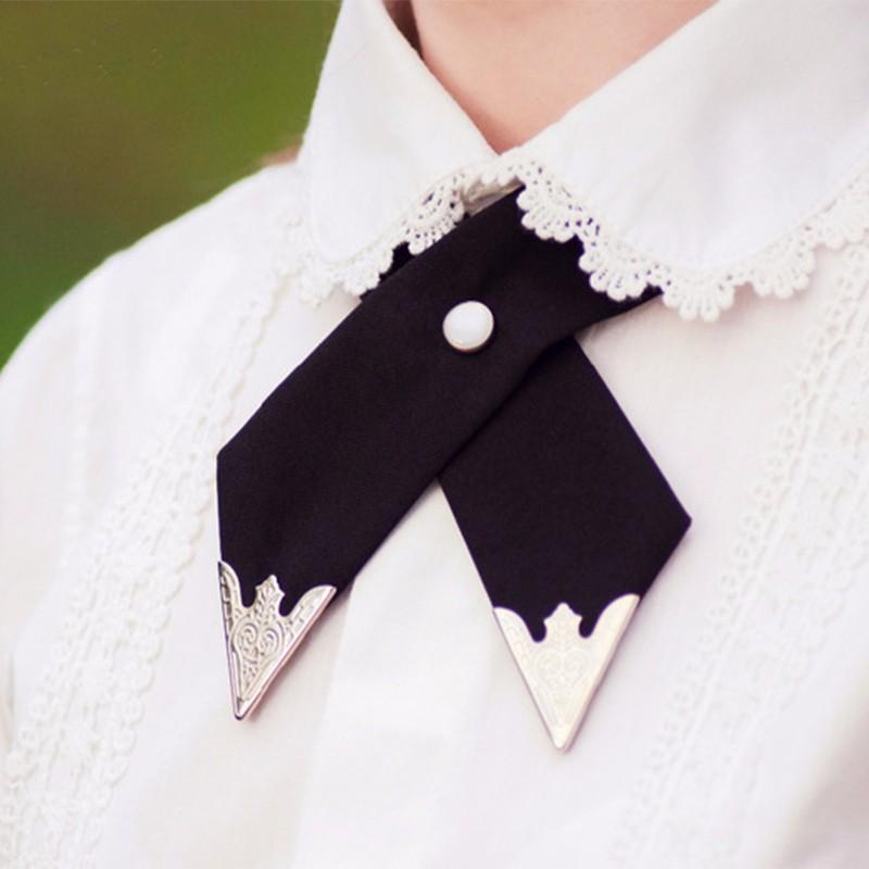2016-Fashion-Adjustable-Cross-Polyester-Tie-Solid-Color-Collar-Cross-Wedding-Tie-White-Universal-Necktie-High