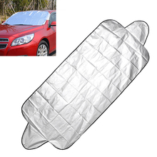 Anti Snow Frost Ice Shield Car Windshield Shade Car Windscreen Cover 150*70cm Dust Protector Front Window Screen Auto Sun Cover цены онлайн