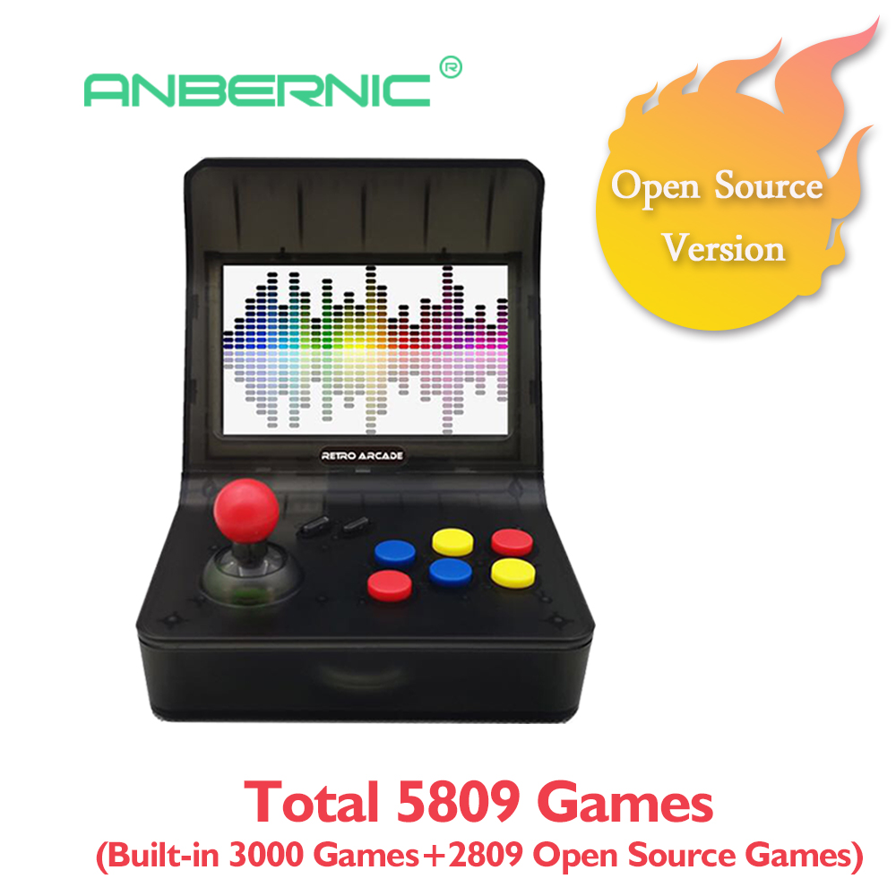 Retro Portable Mini Handheld Game Console 64Bit 4.3 in Color LCD Screen Built-in 3000 Games Kid Video Handheld Game Player on TVRetro Portable Mini Handheld Game Console 64Bit 4.3 in Color LCD Screen Built-in 3000 Games Kid Video Handheld Game Player on TV
